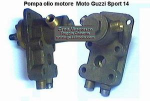 pompa olio sport 14 - Moto Guzzi